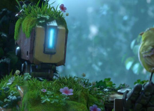 The Last Bastion : un robot guerrier se réveille en pleine nature