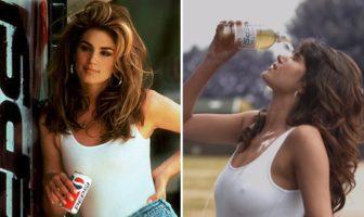 Parodie de la pub Pepsi Cindy Crawford par SumOfUs