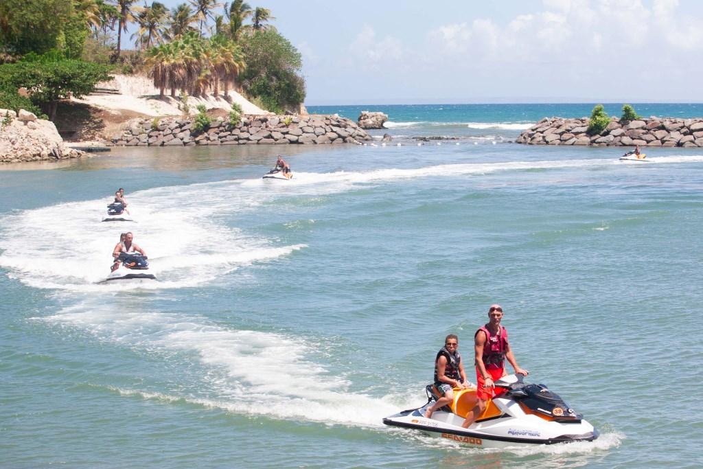 faire du jet-ski en Guadeloupe
