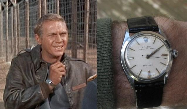 La montre Speedking de Rolex dans la Grande Évasion avec Steve McQueen