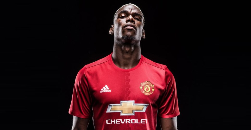 paul pogba manchester united 2016