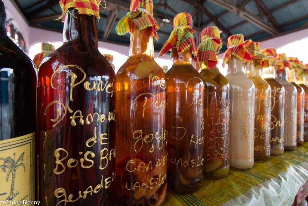 Les rhums arrangés en Guadeloupe