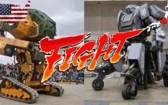 MegaBots USA vs Japon : un combat de robots géants se prépare !