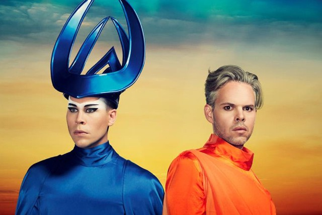 Empire Of The Sun LUKE STEELE (The Sleepy Jackson) et NICHOLAS LITTLEMORE (Pnau)