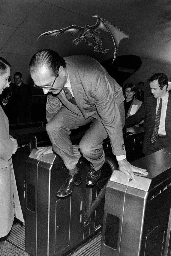 StopLaFraude, parodie de la pub fraude ratp dragon : Chirac