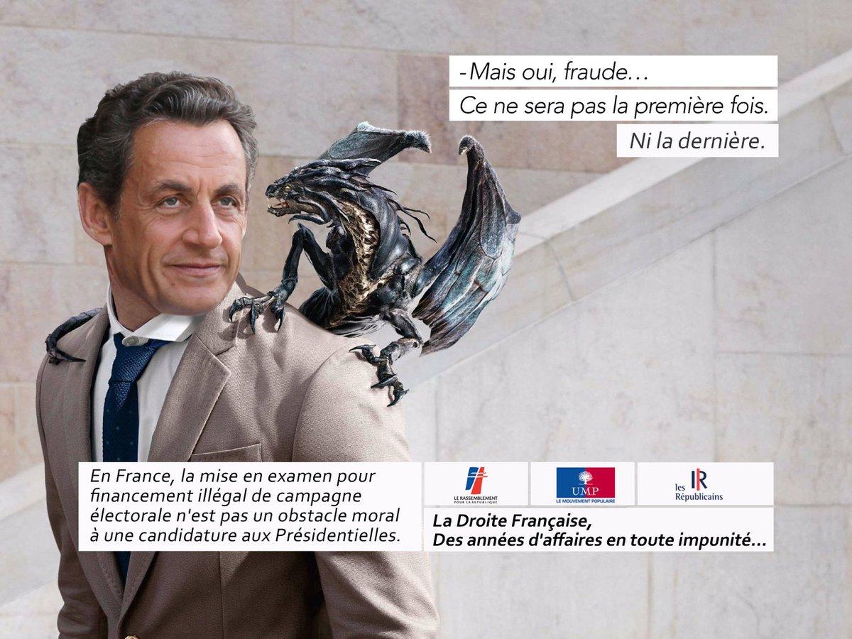 StopLaFraude, parodie de la pub fraude ratp dragon : Nicolas Sarkozy