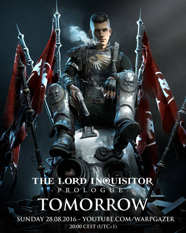 The Lord Inquisitor Prologue : affiche du fan film sur Warhammer 40 000