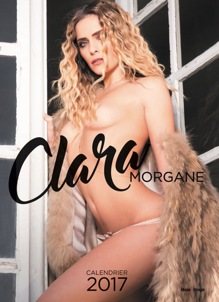 Clara Morgane nue sur la couverture alternative de son calendrier sexy 2017