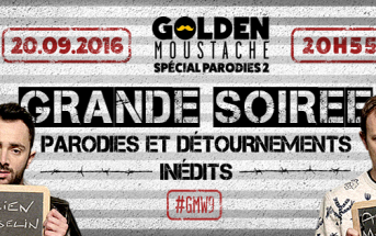 Golden Moustache : un prime spécial parodies le 20 septembre sur W9