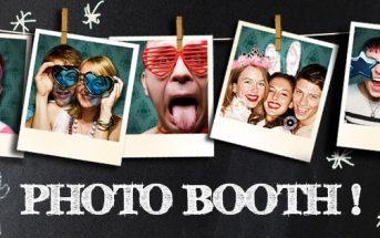 5 idées de photobooths originaux pour une soirée réussie