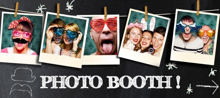 5 id es de photobooths originaux pour une soir e r ussie. Black Bedroom Furniture Sets. Home Design Ideas