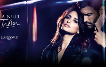 pub 2016 / 2017 du parfum la nuit tresor de Lancôme avec Penélope Cruz