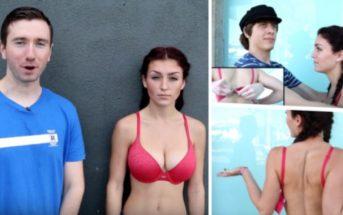 Vidéo : elle met les hommes au défi de dégrafer son soutien-gorge