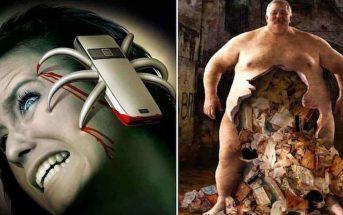Ces 10 illustrations dévoilent le côté sombre de la société moderne