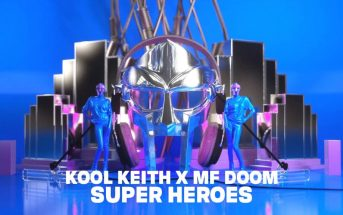 "Super Hero : le clip hip ""pop"" des 2 légendes Kool Keith & MF Doom"