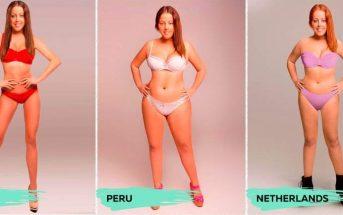 À quoi ressemble la femme parfaite selon 18 pays différents ?