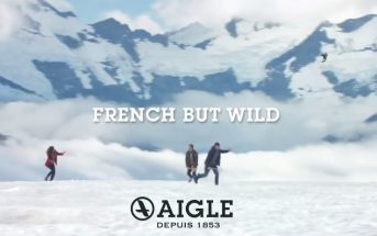 French But Wild : la partie de badmintong outdoor de la pub Aigle 2016