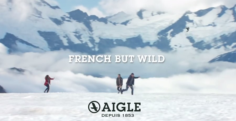 "pub Aigle 2016 ""French but wild"" - badmington"
