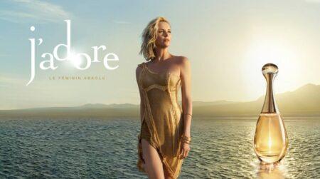 pub parfum J'adore Dior 2016-2017 avec Charlize Theron