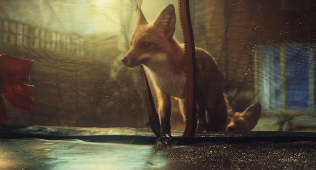 john lewis pub noel 2016 : un renard qui fait du tampoline