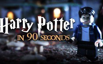 LEGO Stop Motion : la saga Harry Potter résumée en 2 minutes