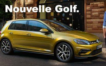 Nouvelle Volkswagen Golf 2017 : tout ce qu'il faut savoir