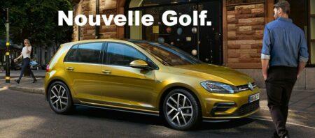 nouvelle volkswagen golf 2017