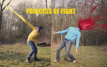Princess of Fight : une scène de baston épique comme dans Dragon Ball Z