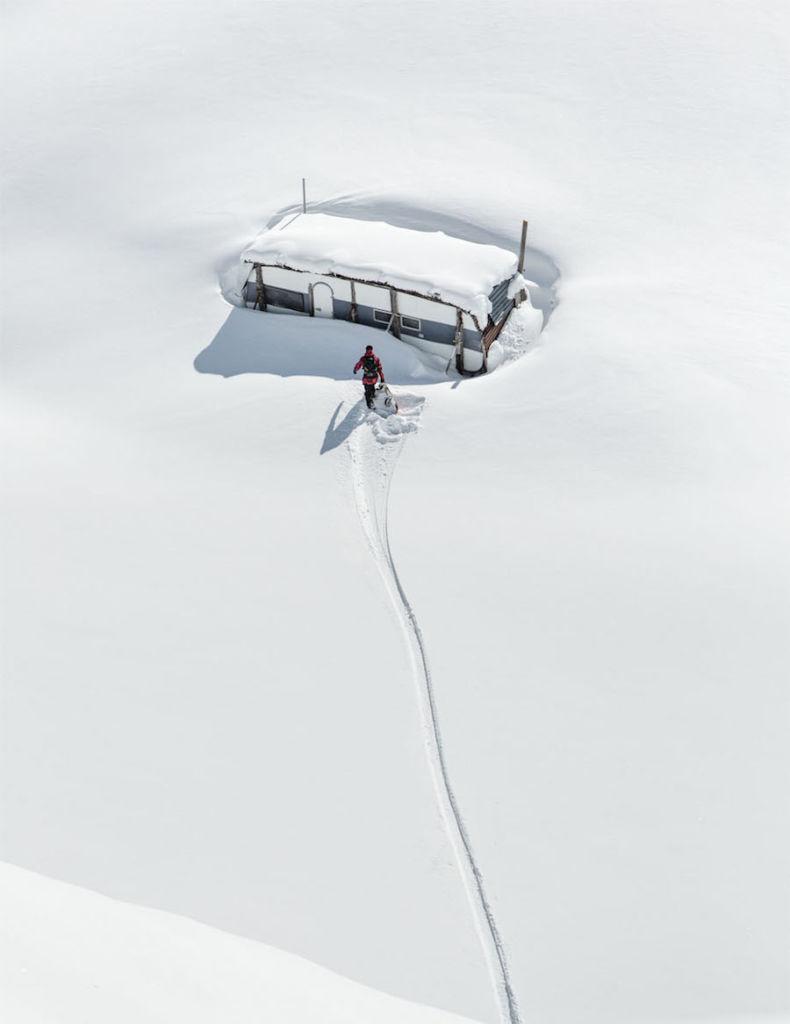Photographer: Claudio Casanova Red Bull Illume 2016 Category: Lifestyle Athlete: Philipp Schicker Location: Hoch-Ybrig, Switzerland