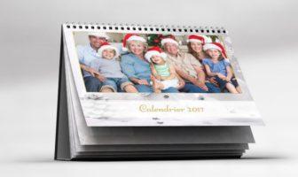 Idée cadeau de Noël original : calendrier photo personnalisé 2017