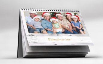 Le calendrier photo personnalisé 2017 : une idée de cadeau original pour Noël