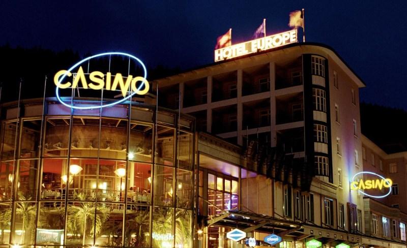 casino de Davos en Suisse
