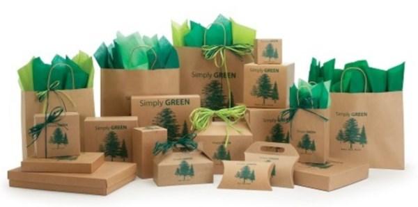 emballage éco-responsable recyclé ou biodégradable