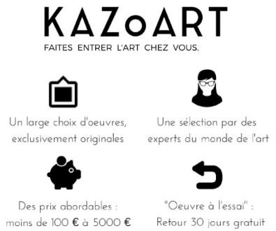 kazoart : faites entrer l'art chez vous