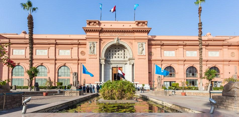 Le musée égyptien du Caire en Egypte