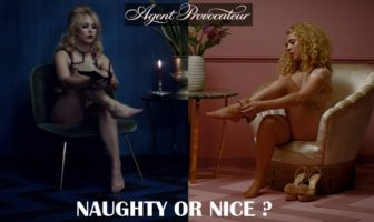 naughty or nice : juno temple - agent provocateur