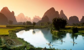 rivière Li Chine