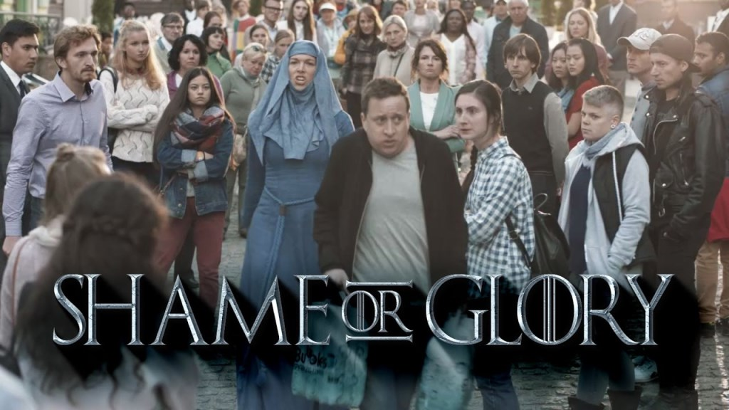 Shame or Glory : parodie Game of Thrones