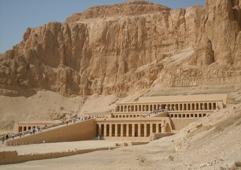 La Vallée des rois en Egypte