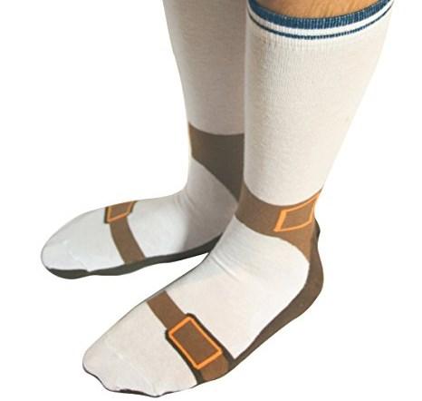 Chaussettes en forme de sandale