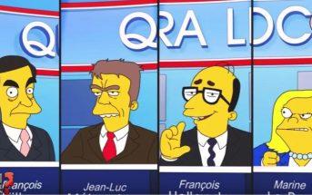 Qui sera le prochain président français ? Greenpeace parodie la présidentielle 2017 version Simpson