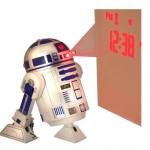 réveil projection RDD2 Star Wars