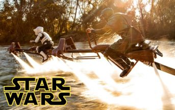 Fan film Star Wars : une poursuite de Speeder Bike en vrai !