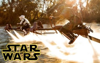 Star Wars - Speeder Bike Jetovator Battle in Real Life!
