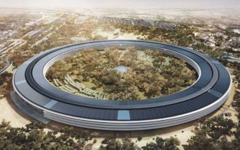 Apple Campus 2 : le siège futuriste d'Apple filmé par un drone