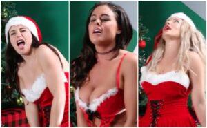 des filles chantent un chant de noel sur une vibromasseur - sextox