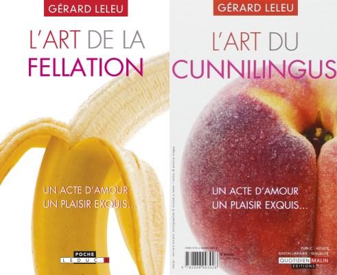 livres : L'art de la fellation - L'art du cunnilingus