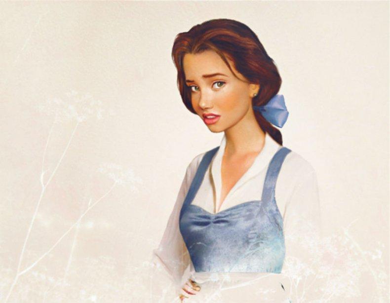Les princesses Disney réelles : version réaliste de Belle de La belle et la bête (1991)