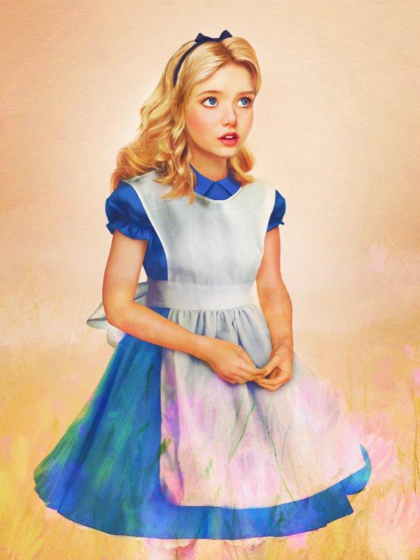 Les princesses Disney réelles : Alice au Pays des Merveilles (1951)
