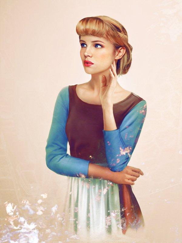 Les princesses Disney réelles : et si Cendrillon avait été une vrai fille ?(1950)